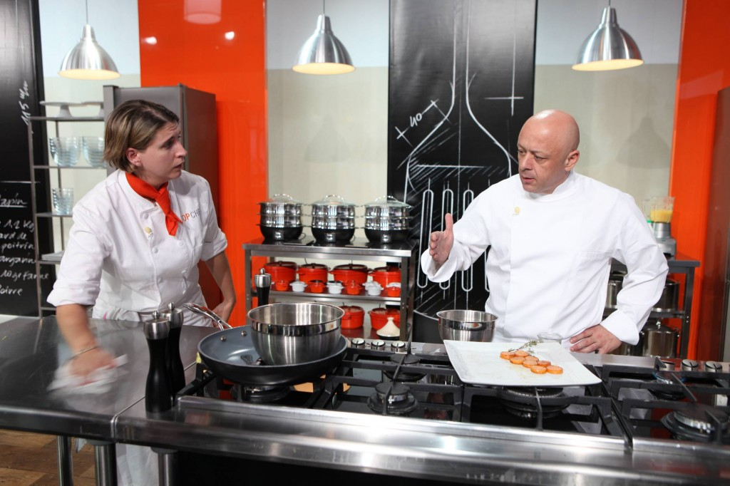 Image : stéphanie top chef cybermag