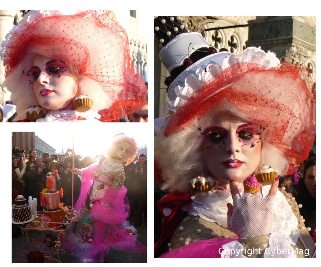 Image : Femme muffin venise carnaval