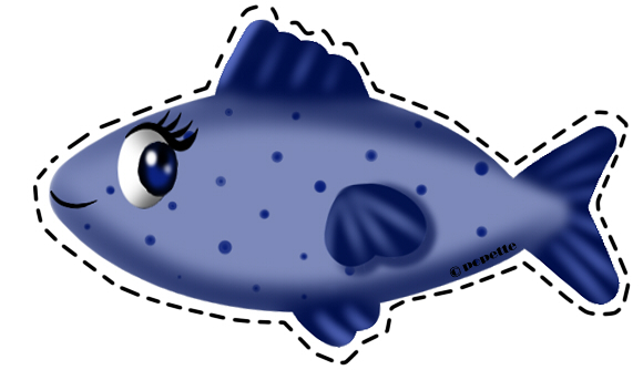 Image : Poisson d'avril Popette