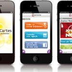 Retrouvez l'application CyberCartes sur l'iPhone