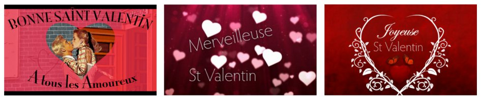Image : cartes St Valentin
