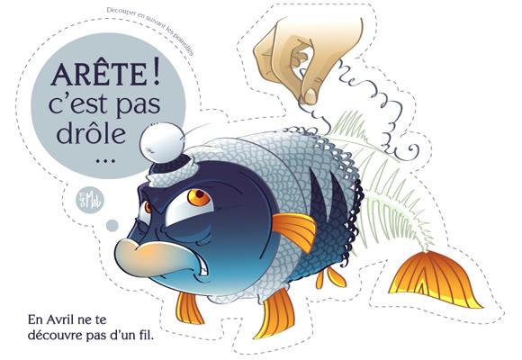 """Image : Poisson d'avril """"Poisson frileux"""" de Little Mob"""