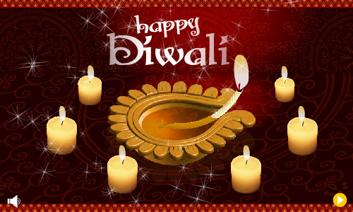 Image : Carte Diwali