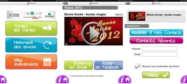 IMAGE : Application iPad