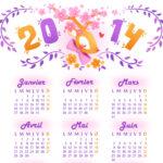 6 sublimes calendriers 2014 à imprimer