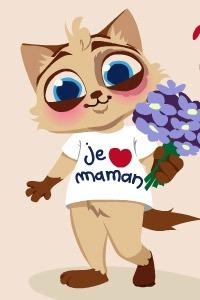 IMAGE : chat maman