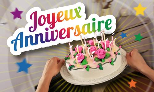 IMAGE : Anniversaire gâteau magique